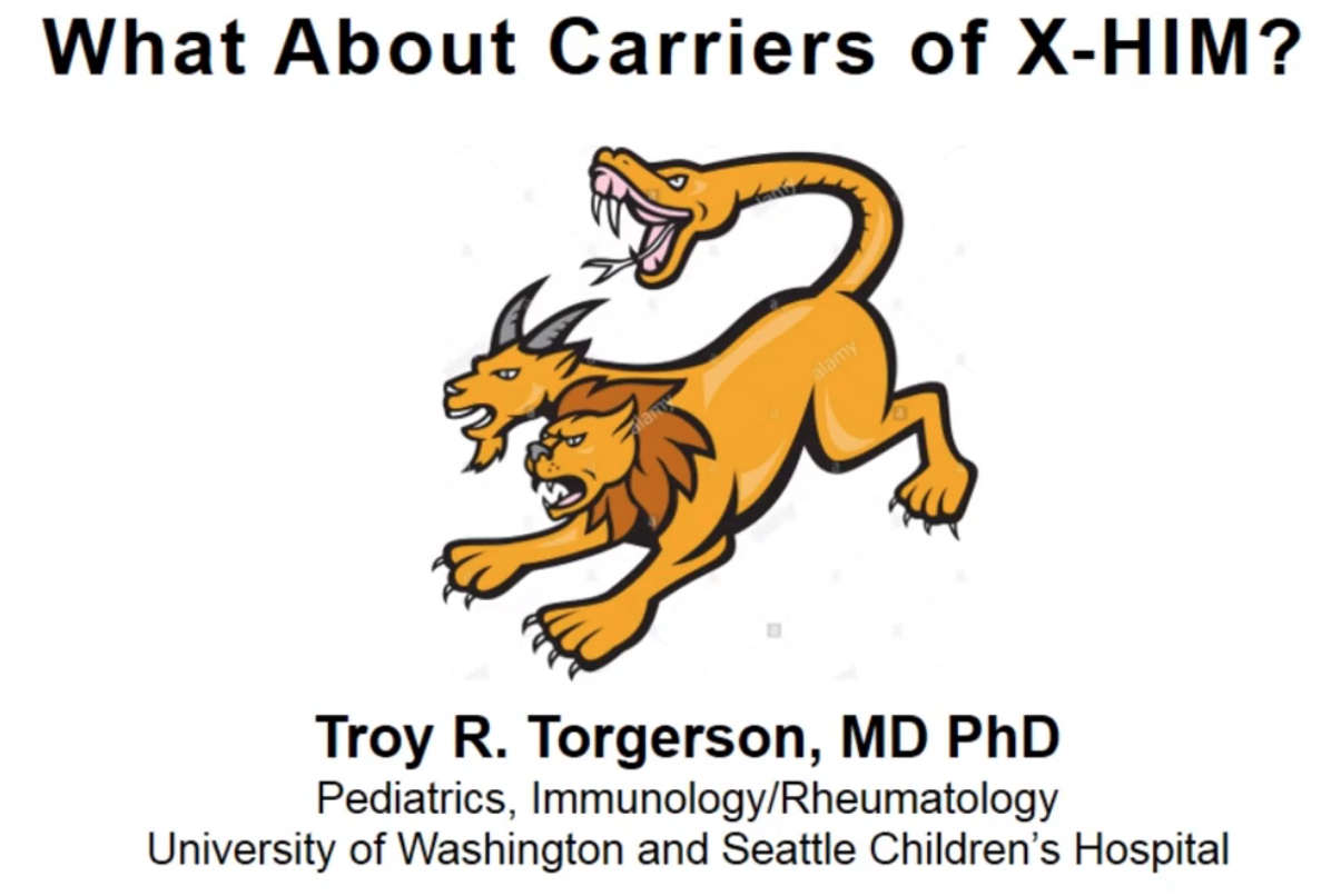 What About Carriers of X-Linked Hyper IgM Syndrome? by Dr